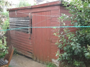 My garden shed.