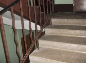 A staircase.
